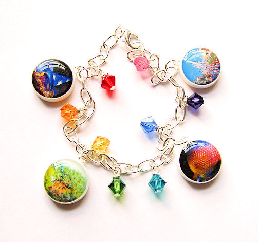 Walt Disney World Charm Bracelet Four