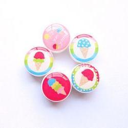 M2M Ice Cream Sweetie Bead Set of 5